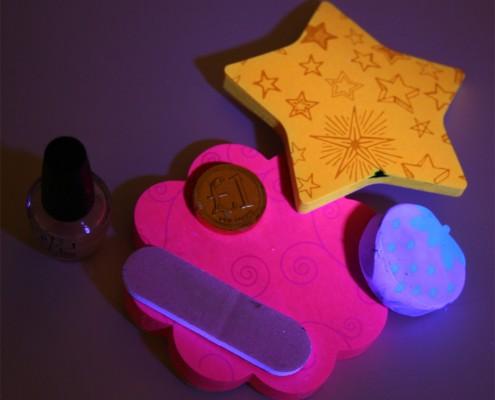 UV fluorescence