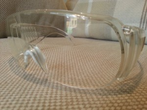 Clear Tinted UV Safety Glasses